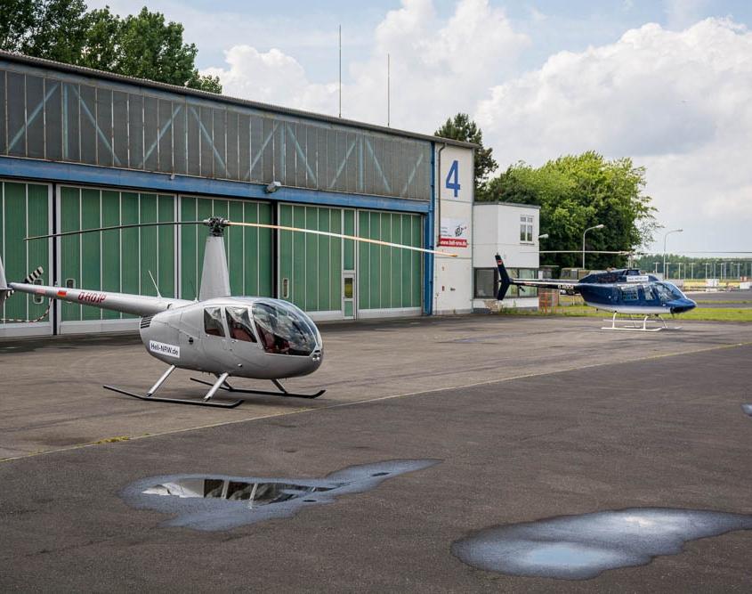 Heli NRW Hangar